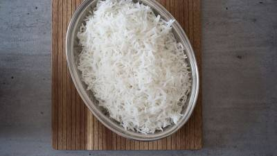 La cuisson du riz basmati