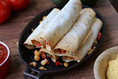Flautas ou tortillas au four