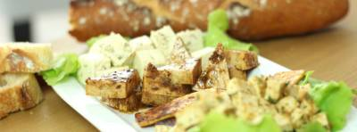 Quatre marinades de tofu