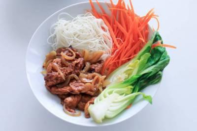 Seitan maison façon bœuf aux oignons asiatique