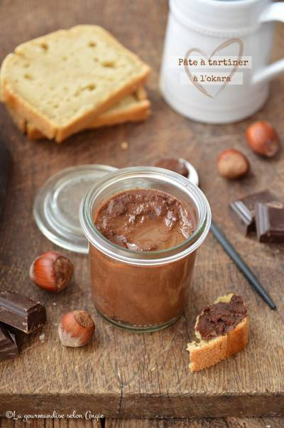 Pâte à tartiner chocolat okara