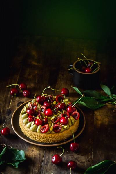 Sablé breton cerise pistache