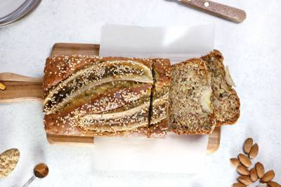 Banana bread végan très moelleux