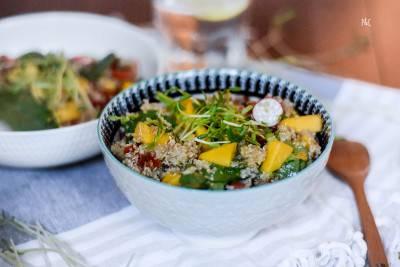 Salade mangue quinoa