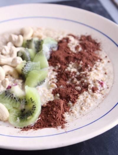 Porridge d'avoine spécial IG bas