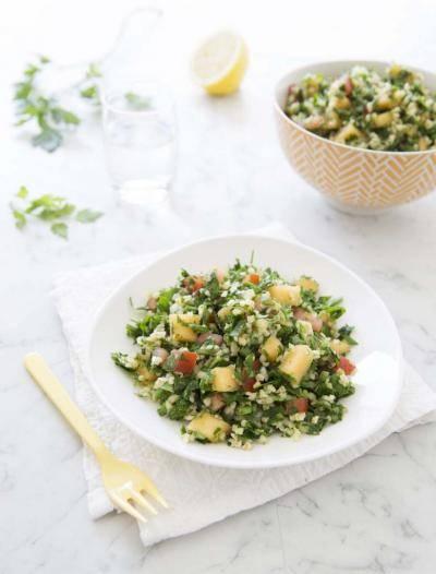 Taboulé libanais au melon