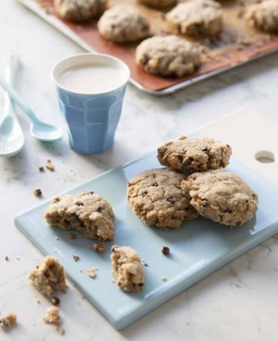 3 recettes de cookies végans au chocolat