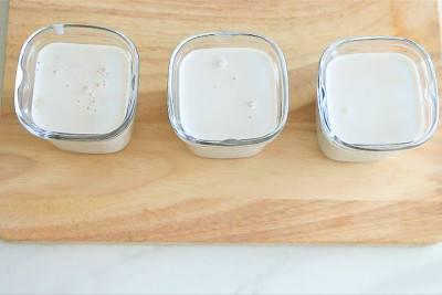 Yaourt maison au lait de coco