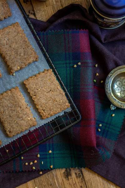 Biscuits sablés au sarrasin