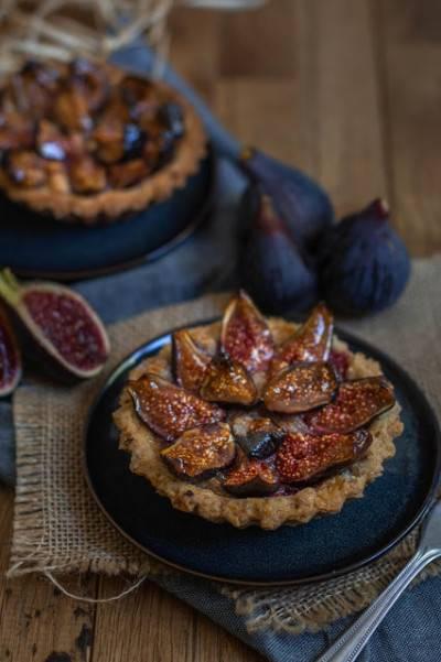 Tartelettes aux figues et amandes