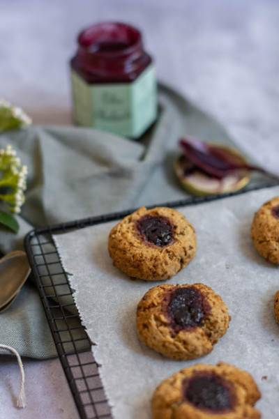Grottor: biscuits suédois à la confiture