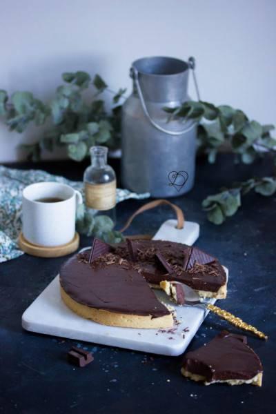 Tarte au chocolat de Délia