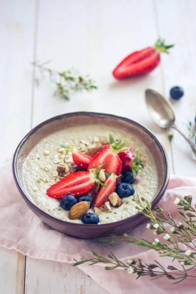 Porridge de base au son d'avoine
