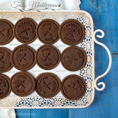 Biscuits de pois chiches au chocolat