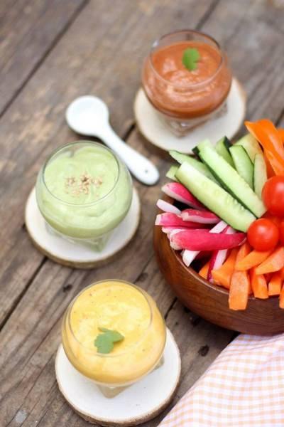 Trio de sauces pour réveiller vos salades
