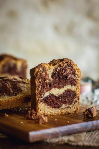 Cake marbré classique de Délia