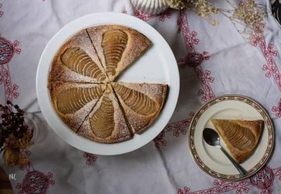 Tarte Bourdaloue ou amandine aux poires