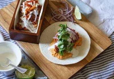 Tacos à la patate douce et aux PST