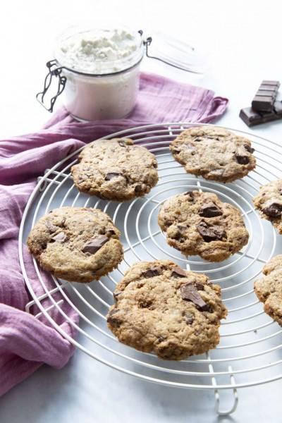 Cookies au chocolat de l'Abattoir végétal
