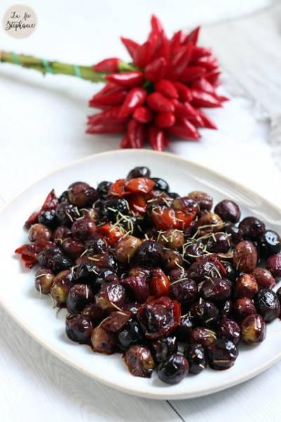 Olives sautées à l'italienne