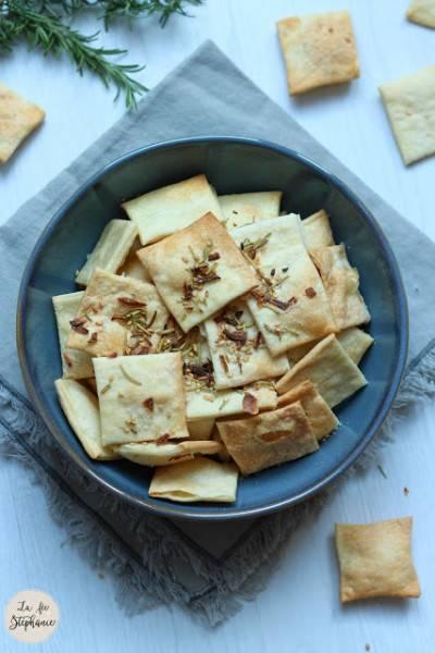 Crackers faciles et sans levure