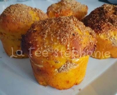 Muffins au potiron et à la carotte