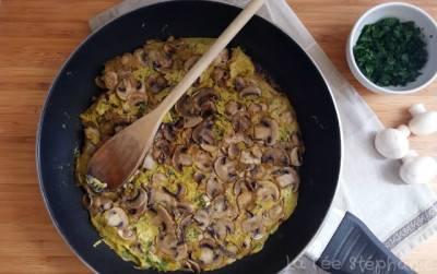 Frittata aux champignons