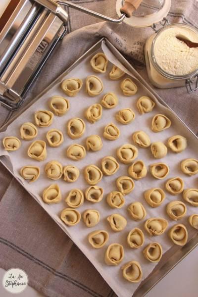 Tortelloni farcis frais maison