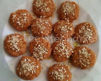 Galettes de blé croustillantes aux flocons d'avoine