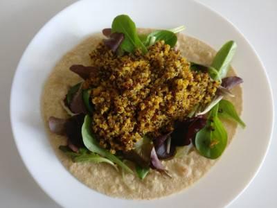Poêlée de quinoa aux épices