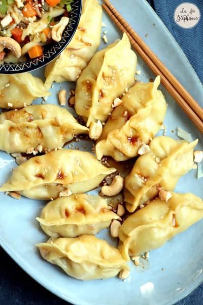 Dumplings aux légumes
