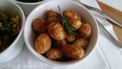 Pommes de terre rôties à la moutarde