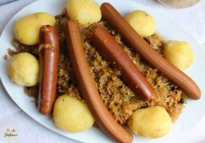 Choucroute végane et chou fermenté maison