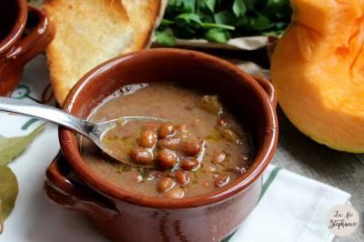 Soupe de haricots rouges au potimarron