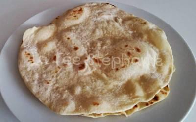 Galettes «tortillas» maison de la fée Stéphanie