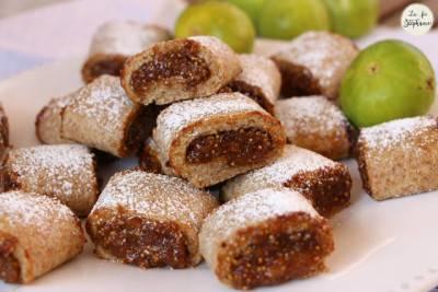 Mini-biscuits aux figues fraiches
