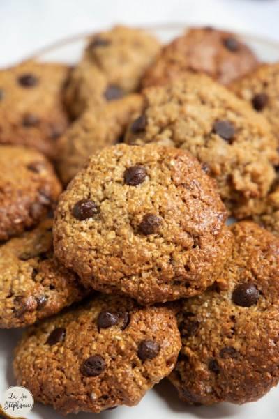 Cookies aux flocons d'avoine et beurre de cacahuètes