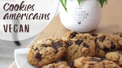 Cookies américains végans