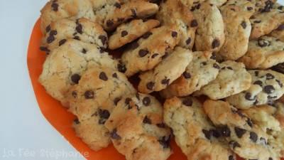 Cookies végans aux pépites de chocolat