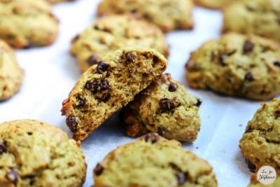 Cookies moelleux banane chocolat