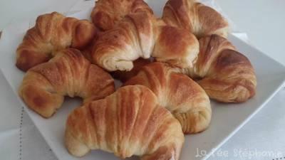 Croissants maison au beurre végétal