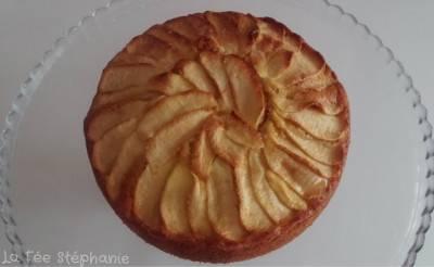 Gâteau végan aux pommes