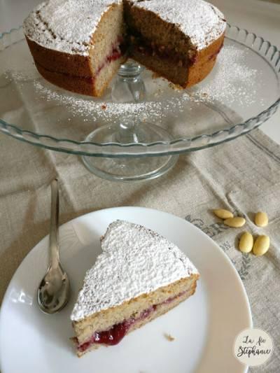 Gâteau aux amandes et farine de sarrasin