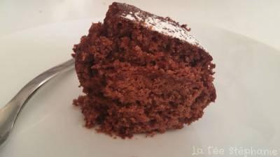 Gâteau au chocolat à la farine de châtaigne
