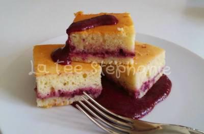 Petits gâteaux au yaourt et à la confiture