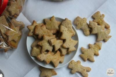 Biscuits fondants de Noël à la cannelle