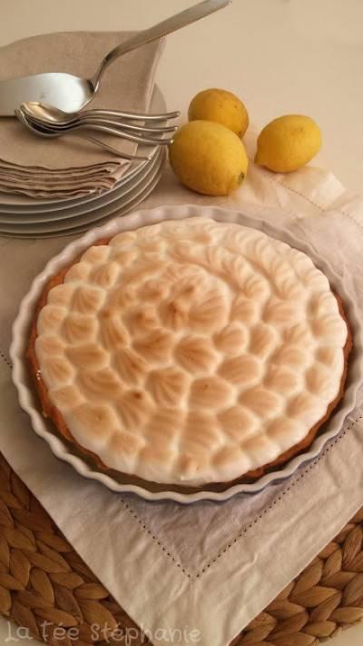 Tarte au citron meringuée de la fée Stéphanie