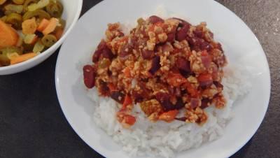 Chili con soja