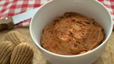 Tartinade aux haricots rouges et à la tomate séchée