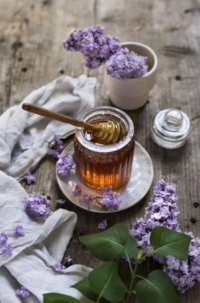 Miel végan de fleurs de lilas